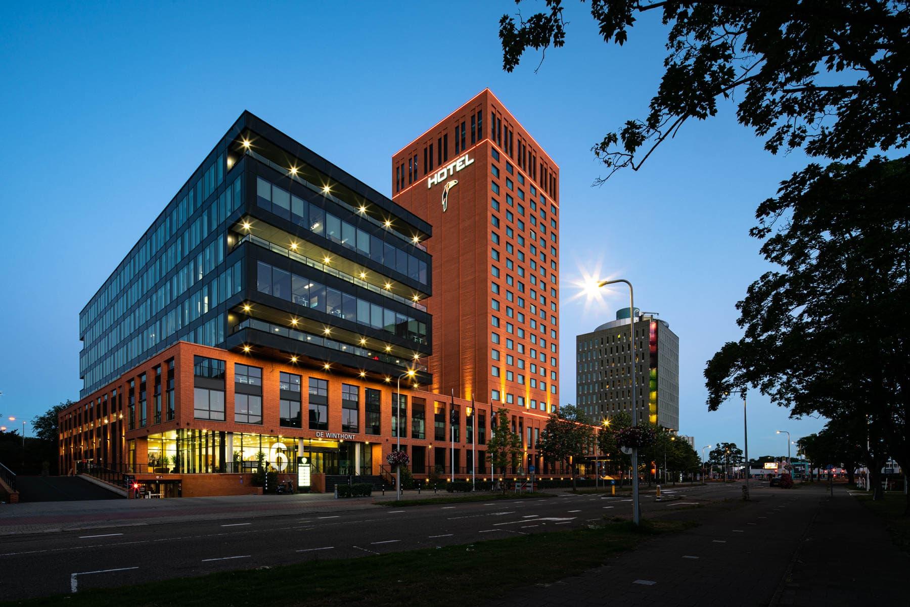 Hotel en kantoor WinthontlaanUtrecht